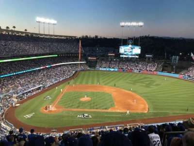 Dodger Stadium, section: 10RS, row: R, seat: 21