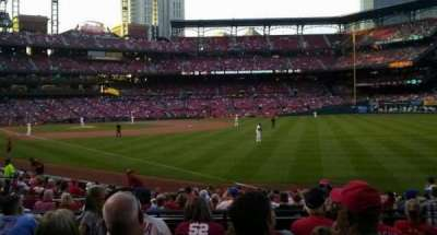 Busch Stadium, section: 132, row: 9, seat: 6