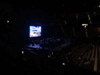 The Forum, section: 125, row: 11, seat: 12