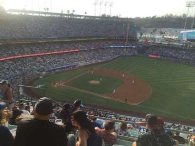 Dodger Stadium, section: 22RS, row: EE, seat: 4