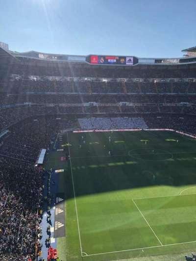 Santiago Bernabéu Stadium, section: 529, row: 1, seat: 14