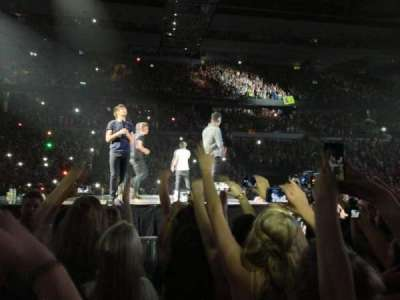 The Palace of Auburn Hills, section: Floor D, row: 10, seat: 3