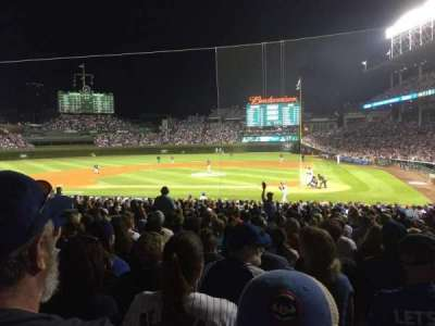 Wrigley Field, section: 117, row: 13, seat: 108