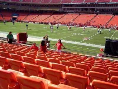 Arrowhead Stadium, section: 135, row: 11, seat: 7
