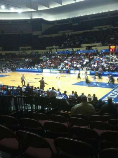 Municipal Auditorium Kansas City, section: 131, row: 1, seat: 5