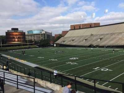 Vanderbilt Stadium, section: H, row: 4, seat: 19
