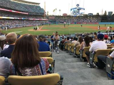 Dodger Stadium, section: 10FD, row: M, seat: 11