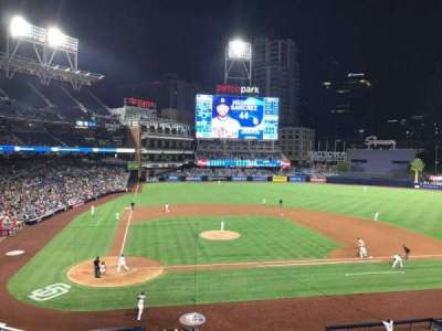 PETCO Park, section: 203, row: 1, seat: 13