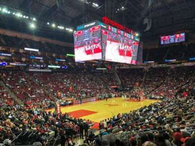 Toyota Center, section: 111, row: 24, seat: 14