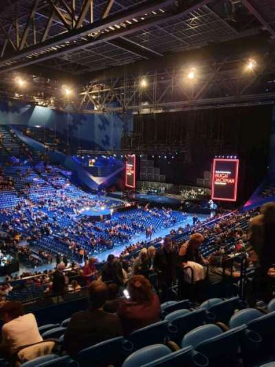 RAC Arena, section: 309, row: L, seat: 5
