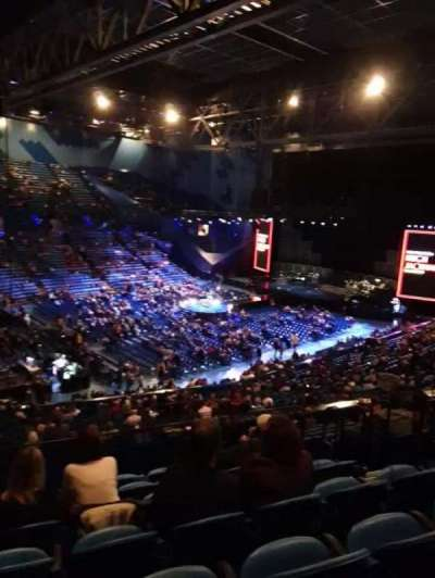 RAC Arena, section: 309, row: L, seat: 6