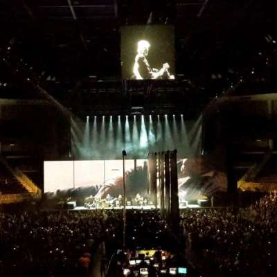 Infinite Energy Arena, section: 100, row: x, seat: 26