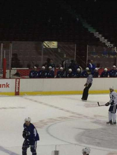 Rogers Arena, section: 110, row: 8, seat: 7