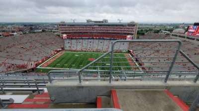 Memorial Stadium (Lincoln), section: 606, row: 9, seat: 1