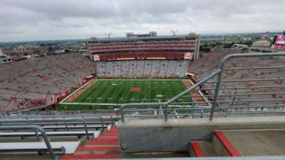 Memorial Stadium (Lincoln), section: 606, row: 9, seat: 2