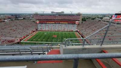 Memorial Stadium (Lincoln), section: 606, row: 9, seat: 3