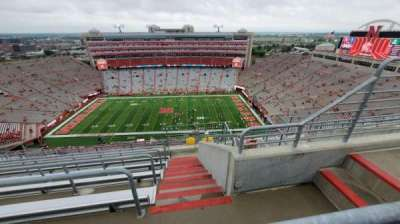 Memorial Stadium (Lincoln), section: 606, row: 9, seat: 4
