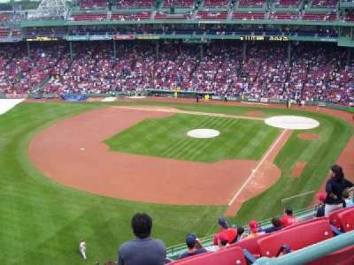 Fenway Park, section: Coca-Cola Corner, row: SRO, seat: SRO