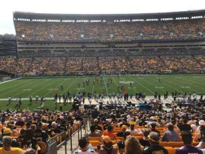 Heinz Field, section: 110, row: FF, seat: 22
