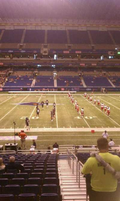 Alamodome, section: 112, row: 18, seat: 1