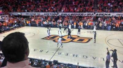 Gallagher-Iba Arena, section: 213, row: 3, seat: 1