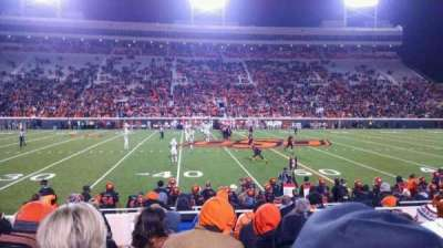 Boone Pickens Stadium, section: 105, row: 11