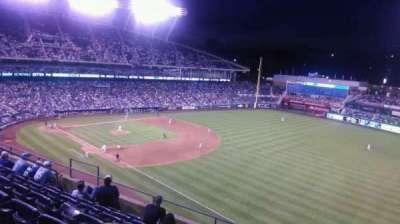 Kauffman Stadium, section: 438, row: E