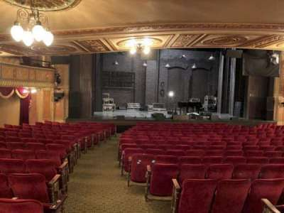 Walter Kerr Theatre, section: Orch L, row: S, seat: 1