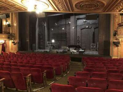 Walter Kerr Theatre, section: Orch R, row: Q, seat: 4
