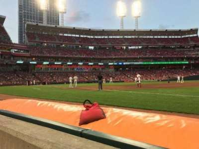 Great American Ball Park section 133