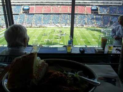 Gillette Stadium section suite r70