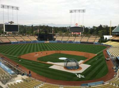 Dodger Stadium, section: Vin Scully Press Box