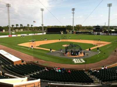 Joker Marchant Stadium, section: Press Box