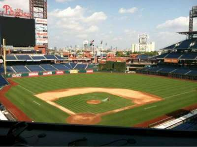 Citizens Bank Park section Press Box