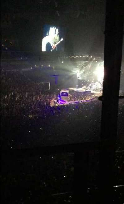 Wells Fargo Arena, section: 208, row: A, seat: 1