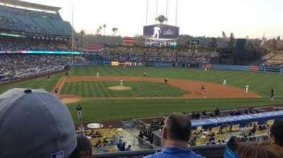 Dodger Stadium section 122LG