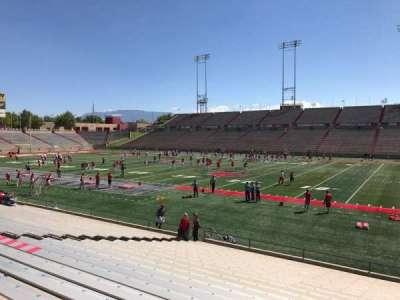 University Stadium (New Mexico), section: B, row: 22, seat: 12