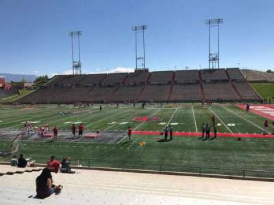 University Stadium (New Mexico), section: C, row: 22, seat: 12