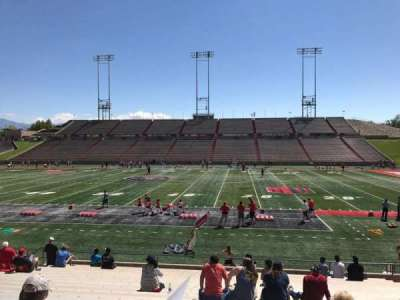 University Stadium (New Mexico), section: D, row: 22, seat: 12