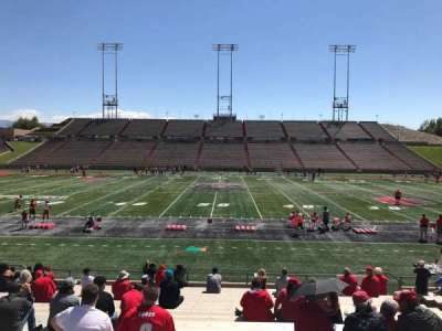 University Stadium (New Mexico), section: E, row: 22, seat: 12