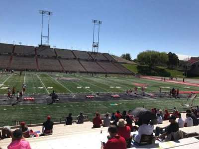 University Stadium (New Mexico), section: F, row: 22, seat: 12