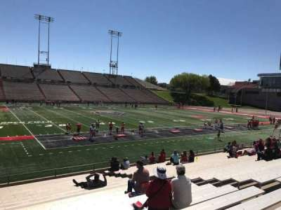 University Stadium (New Mexico), section: G, row: 22, seat: 12