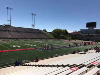 University Stadium (New Mexico), section: H, row: 22, seat: 12