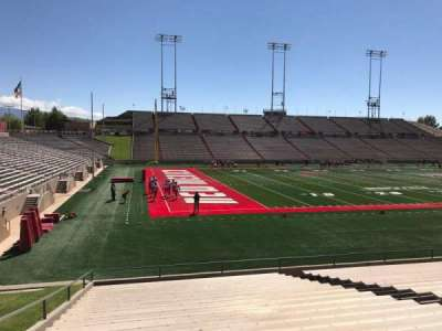 University Stadium (New Mexico), section: I, row: 22, seat: 12