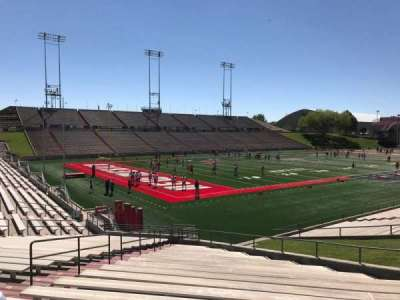 University Stadium (New Mexico), section: NA, row: 22, seat: 12