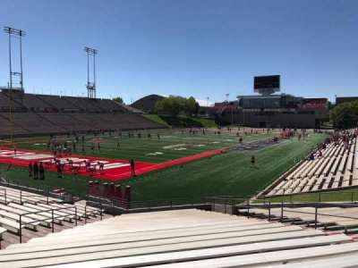 University Stadium (New Mexico), section: NB, row: 22, seat: 12