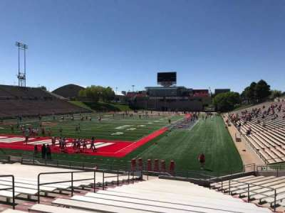 University Stadium (New Mexico), section: NC, row: 22, seat: 12