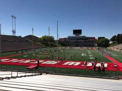 University Stadium (New Mexico), section: NE, row: 22, seat: 12