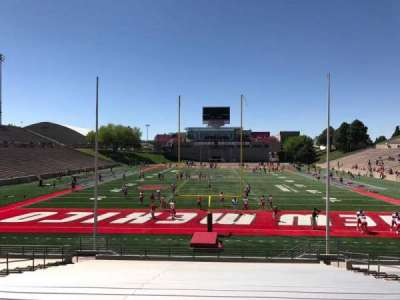University Stadium (New Mexico), section: NF, row: 22, seat: 12