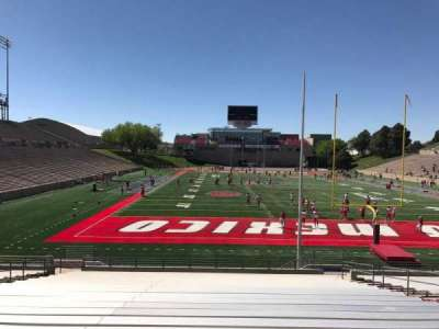 University Stadium (New Mexico), section: NG, row: 22, seat: 12